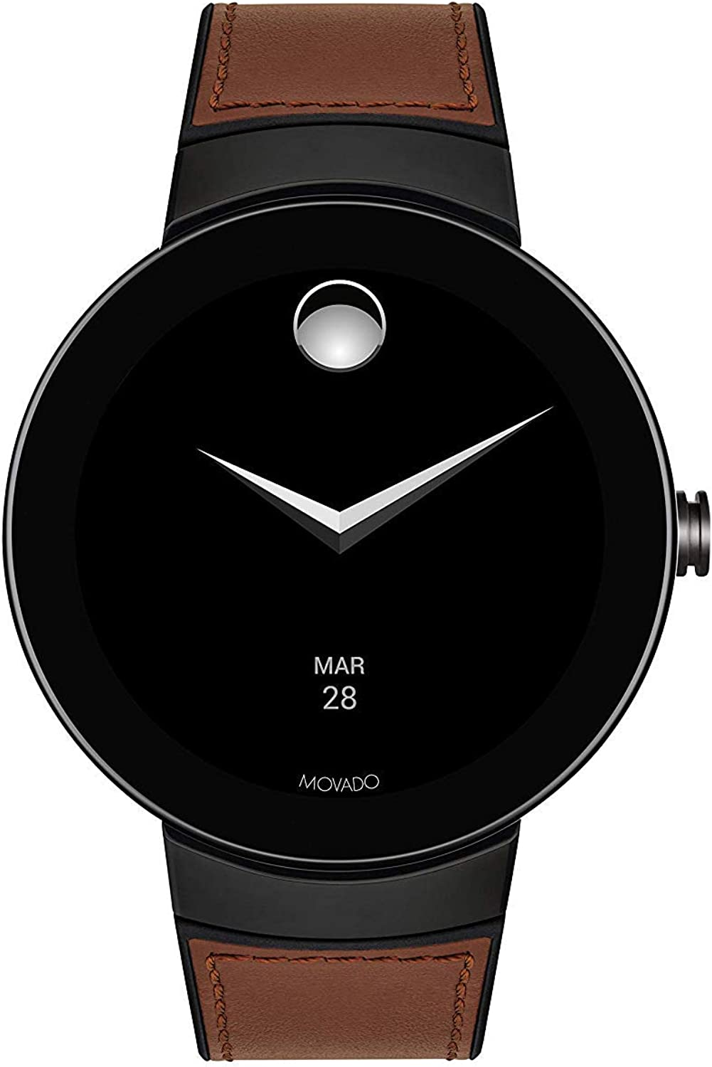 Amazon.com: Movado Connect Digital Smart Module Black PVD ...