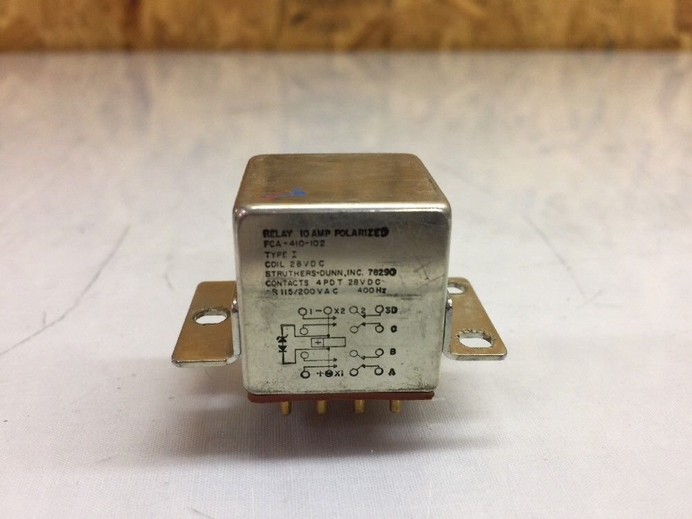 Military Specifications Electromagnetic Relay M83536/16-022M Aircraft C-130 F-15
