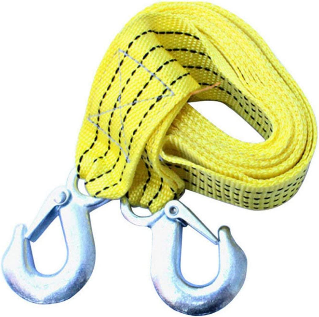 Garciakia Car Tow Rope Coupe 3m Leash Selfdriving Emergency Heavy Duty Tow Strap