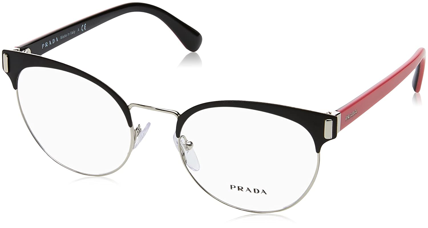 4120778580f Prada Women s PR 63TV Eyeglasses 50mm at Amazon Women s Clothing store