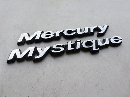 Amazon 98 Mercury Mystique Rear Trunk Emblem Logo Badge Symbol