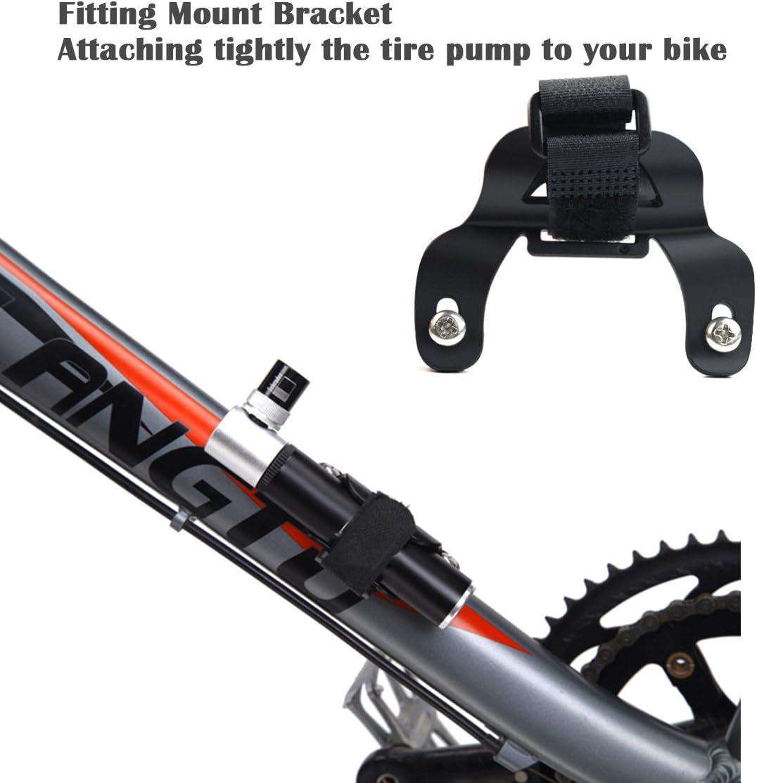 Cyber Cart - Mini bombín de bicicleta con soporte para cuadro de ...