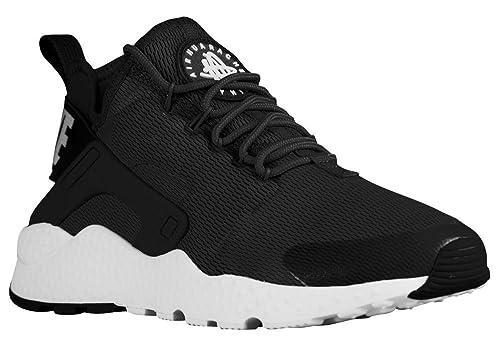 a511fd589b9 Nike Nike Air Huarache Run Ultra - Zapatillas de Tela para Mujer Negro/ Blanco: Amazon.es: Zapatos y complementos