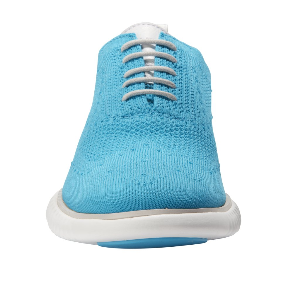 Cole Haan Men's 2 Zerogrand Oxford with Stitchlite 11 Atomic Blue Knit-Vapor Gray by Cole Haan (Image #6)
