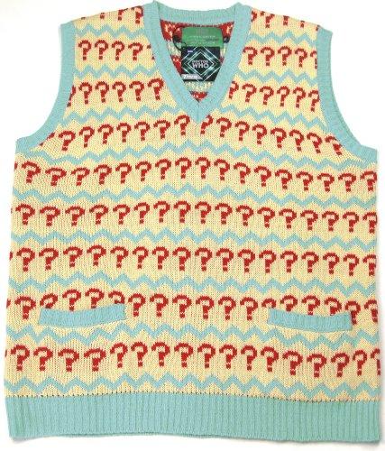 Large Seventh Doctor (Sylvester McCoy) Jumper - Official 7th Doctor Tank Top ()