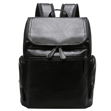 cafd19983f55 Amazon.com: UKXMNC Backpacking Backpack Men Design Waterproof Laptop ...