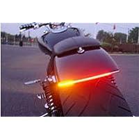 FREESOO Luz Trasera Motocicleta Freno Gire Señal Luz