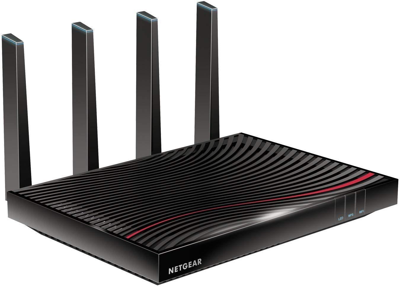 NETGEAR Nighthawk Cable Modem WiFi Router Combo - (C7800) (Renewed) by NETGEAR