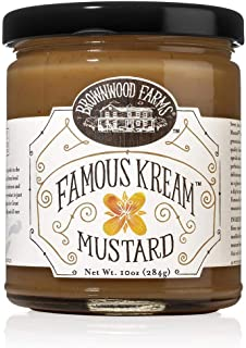 product image for Brownwood Farms Famous Kream Mustard (10 ounce)