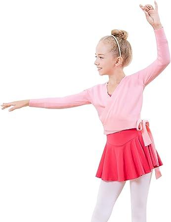 s.lemon Costumes de Ballet Robes Danses Jupes pour Filles Enfant