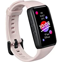 "HONOR Band 6, Model ARG-B39, 1.47"" AMOLED Display, Long Battery Life, 24/7 Heart Rate Monitoring, Sleep Tracking…"