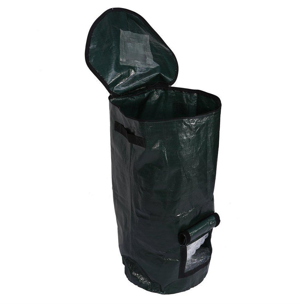 Bolsa de compost, para fermento orgánico casero, para eliminación de residuos de cocina: Amazon.es: Jardín