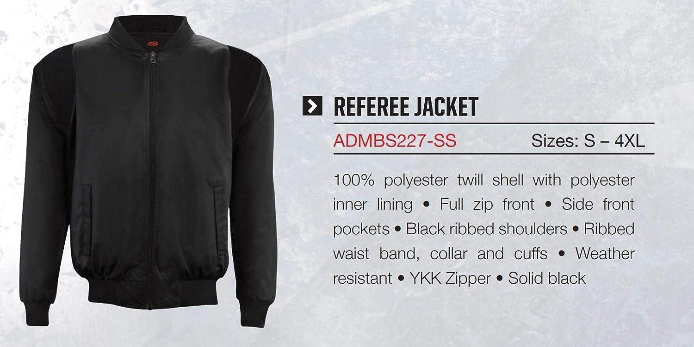 Adams Jacket Referee Basketball Long Sleeve Black
