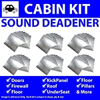 Zirgo 314761 Heat and Sound Deadener (for 67-69 Camaro ~ In Cabin Kit)