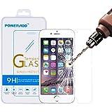Protecteur d'écran iPhone 6s Plus, Protecteur d'écran Poweradd prime en verre trempé pour iPhone 6s Plus / 6 Plus (4,7 pouces) avec Bubble gratuit, 9H Dureté, Eye-protection [Garantie à vie]