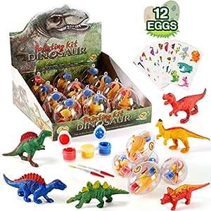 Amazon.com: NEOWOWS - Juguetes de dinosaurio para niños, 12 ...
