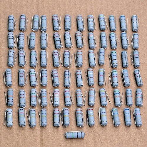 Electronics-Salon 10PCS 240K Ohm 5 Watts 5W Metal Oxide Film Resistor.