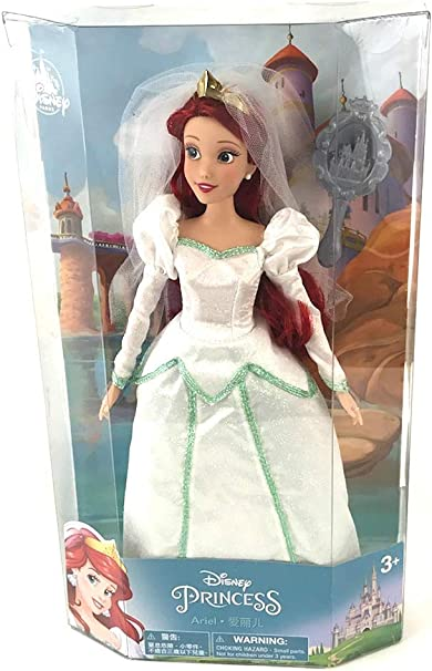 Amazon Com Ariel Doll From The Little Mermaid Wedding Edition Exclusive From Disney Parks Toys Games
