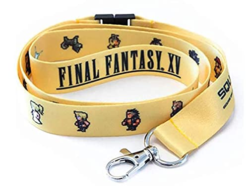 Amazon.com: Final Fantasy XV Lanyard de 16 bits: Jewelry