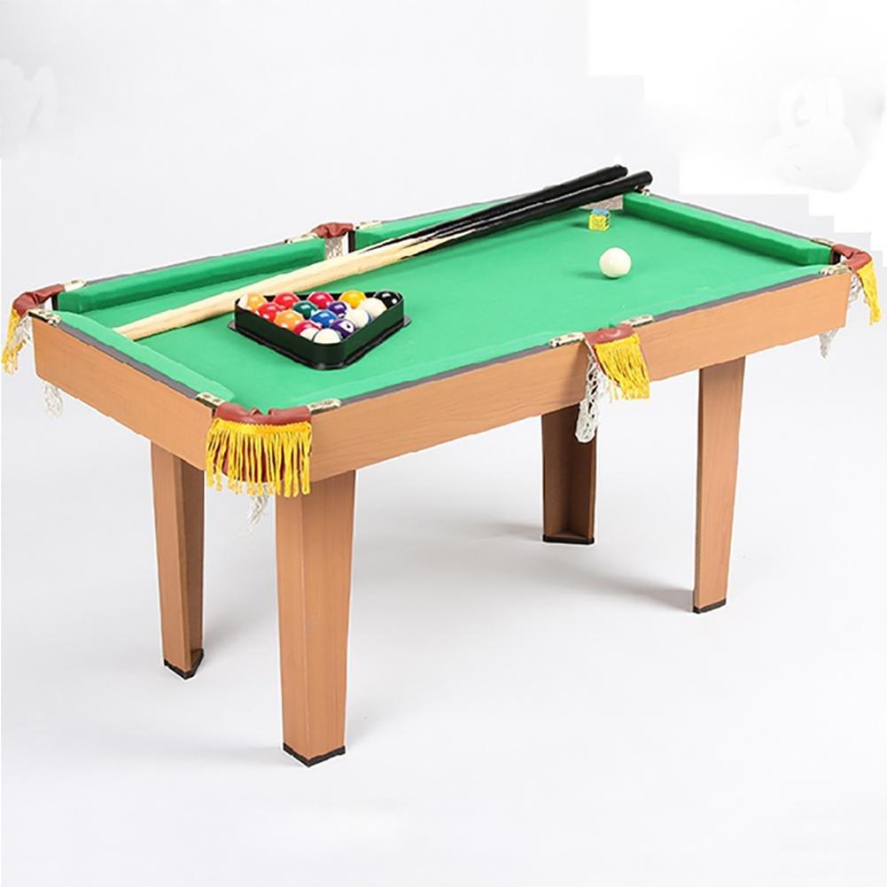 GUO Kinderbillardtisch Holzbrettspiel Eltern-Kind-Interaktion lässig schwarz acht Snooker