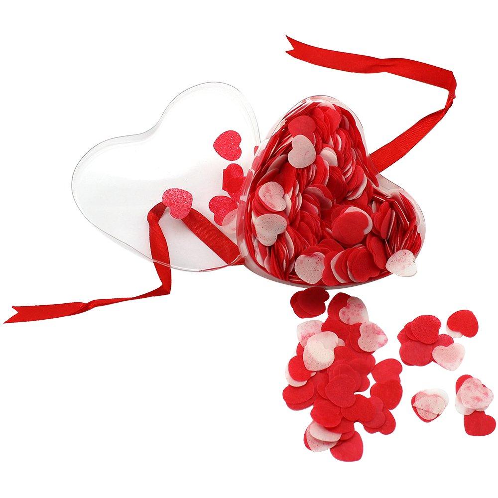 COM de Four® duftendes baño confeti Corazones en un paquete de regalo, ideal como Partner regalo COM-FOUR