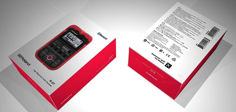 Roland Hi-Res Audio Rekorder R-07-BK Schwarz Linear Pcm Neu in Verpackung