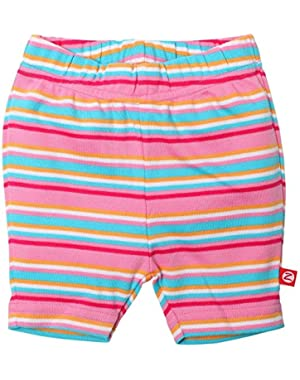 Baby Girls' Multi Stripe Bike Shorts