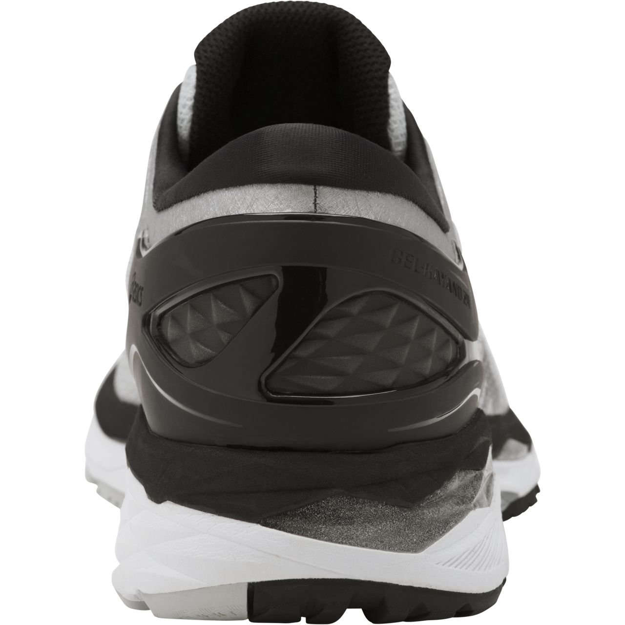 ASICS Mens Gel-Kayano 24 Running Shoe, Silver/Black/Mid Grey, 6 2E US by ASICS (Image #3)