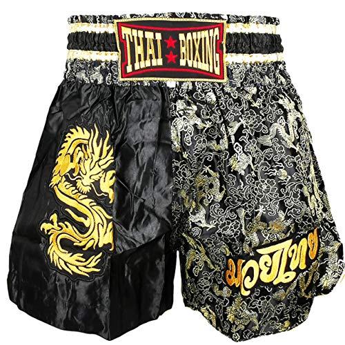 Kurop Boxing Muay Thai Shorts Trunks MMA Martial Arts Kickboxing Fight Sport Clothing