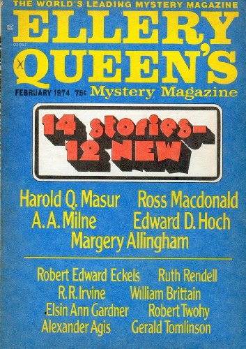 1974 Magazine (Ellery Queen's Mystery Magazine February 1974)