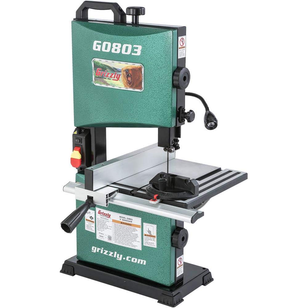 Grizzly Industrial G0803-9'' Benchtop Bandsaw