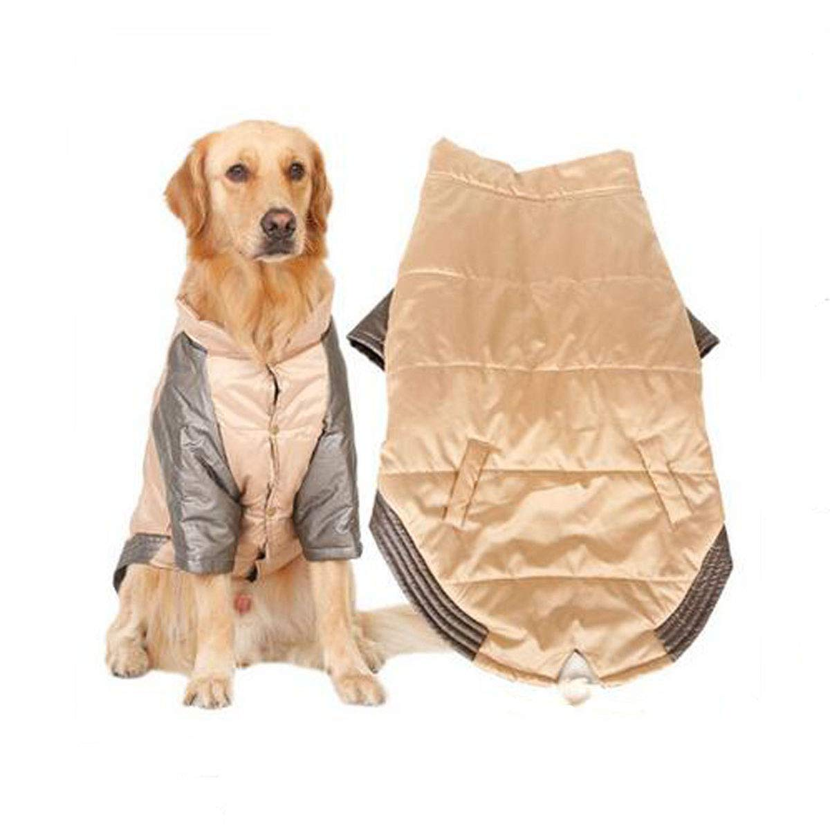 Brown 3XL Brown 3XL Pet Dog Autumn and Winter Clothes, Large and Medium Dogs, pet Clothing (color   Brown, Size   3XL)