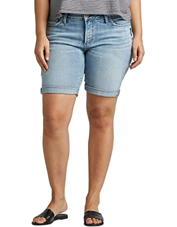 49adda3ddb Women's Plus Size Suki Mid-Rise Curvy Bermuda Short