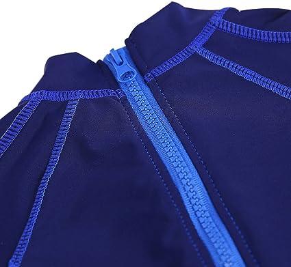Happy childhood Baby Boys One Piece Dinosaur /&Shark Rash Guard Swimsuits UV Protection Bathing Suit Swimwear with Sunhat