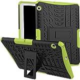 Skytar Huawei MediaPad T3 10 Cover,Custodia per Huawei T3 10,Ibrido Armor Protezione Dual Layer in TPU Silicone & Duro PC Custodia per Huawei MediaPad T3 10 da 9,6 Pollici Tablet Cover Caso Con il Braccio