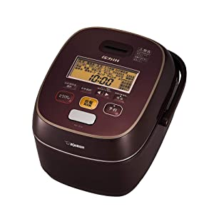 "ZOJIRUSHI Pressure IH Rice Cooker (1.0L) ""極め炊き (Kiwame Daki)"" NW-JS10-VD (Bordeaux)【Japan Domestic genuine products】"