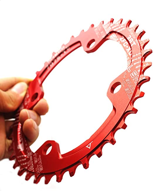 Details about  /Ultralight E-Bike Chainring 4-Bolt Narrow Wide 104BCD Chain Wheel Chain Ring
