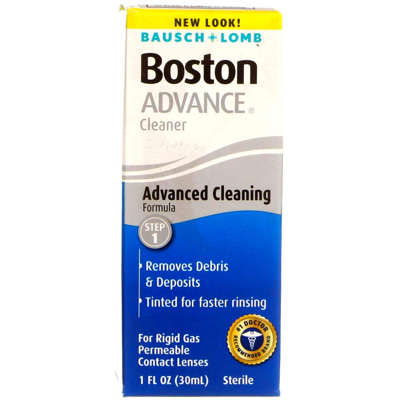 Bausch and Lomb Boston Advance Cleaner, 1 Ounce each (Value Pack of 3)