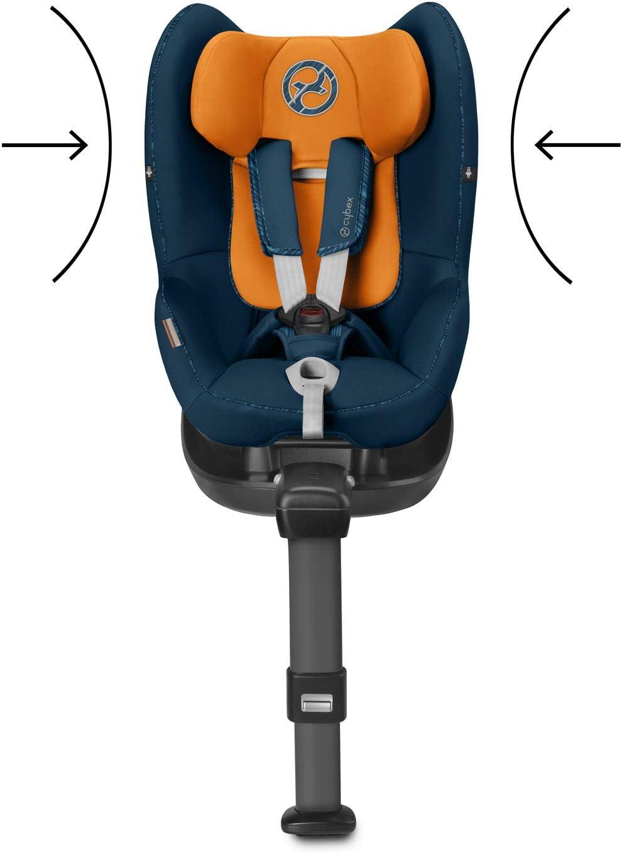 desde el nacimiento hasta los 4 a/ños 19 kg m/áximo Incluye SensorSafe Cybex Manhattan Grey CON BASE M de 45 cm hasta 105 cm aproximadamente Silla de coche grupo 0+//1 Sirona M2 i-size