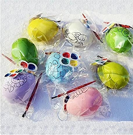 8 Pcs Set Easter Egg Painting Kit Childen Hand Painted DIY Eggs Holiday Toy