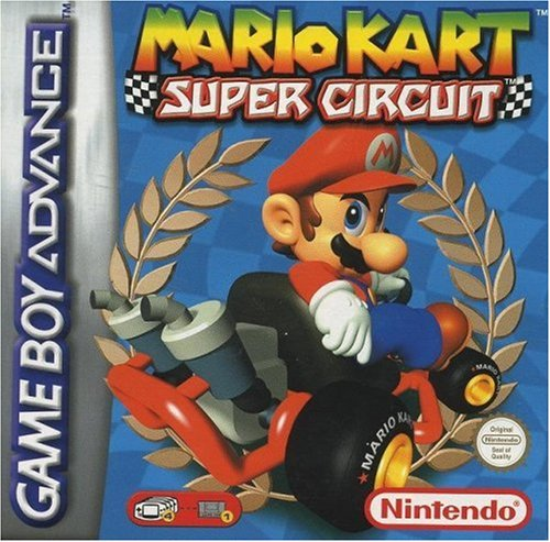 Mario Kart: Super Circuit (Gameboy Advance Sp Play Gameboy Color Games)