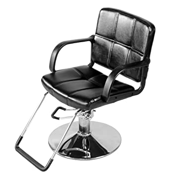 Awe Inspiring Nexttechnology Barber Chair Hydraulic Salon Chairs Hair Stylist Seat Beauty Chair With Footrest Armrest 202 Black Bralicious Painted Fabric Chair Ideas Braliciousco