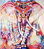 SENGE Elephant Tapestry Wall Tapestry Wall Hanging Mandala Tapestry Bohemian Tapestry Colorful Chakra Tapestry Hippie Watercolor Psychedelic Tapestry Pink Indian for Bedroom Dorm Decor