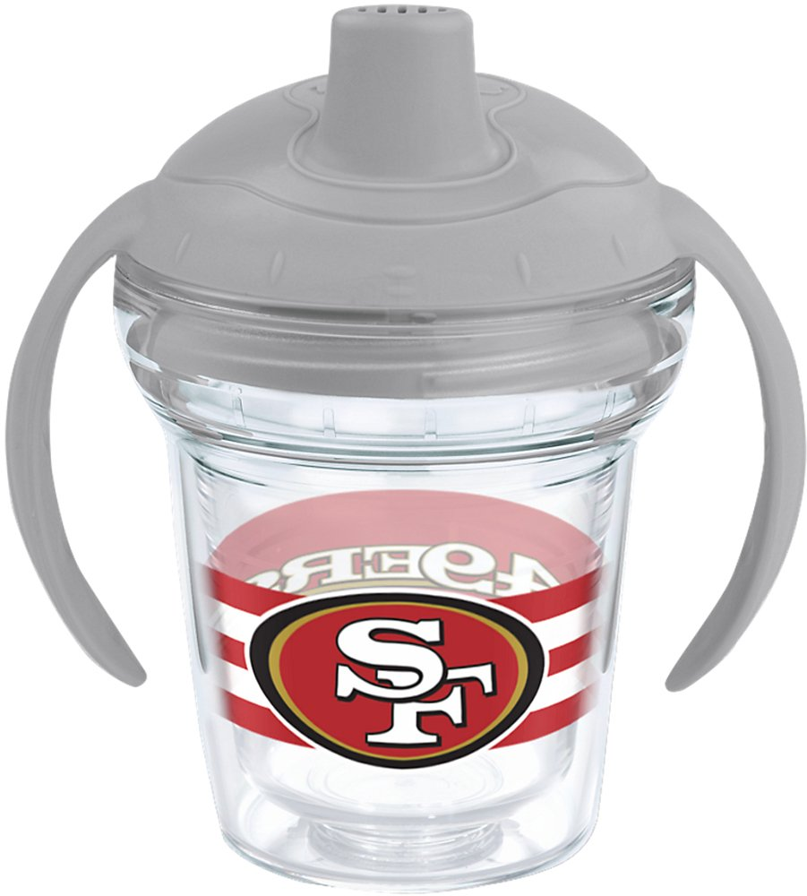 TervisタンブラーNFL San Francisco 49ers 6oz Sippy Cup withグレー蓋   B01689SZOE