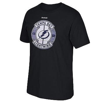 Reebok - Gorra, diseño de los Tampa Bay Lightning Slick Pass NHL Camiseta: Amazon.es: Deportes y aire libre