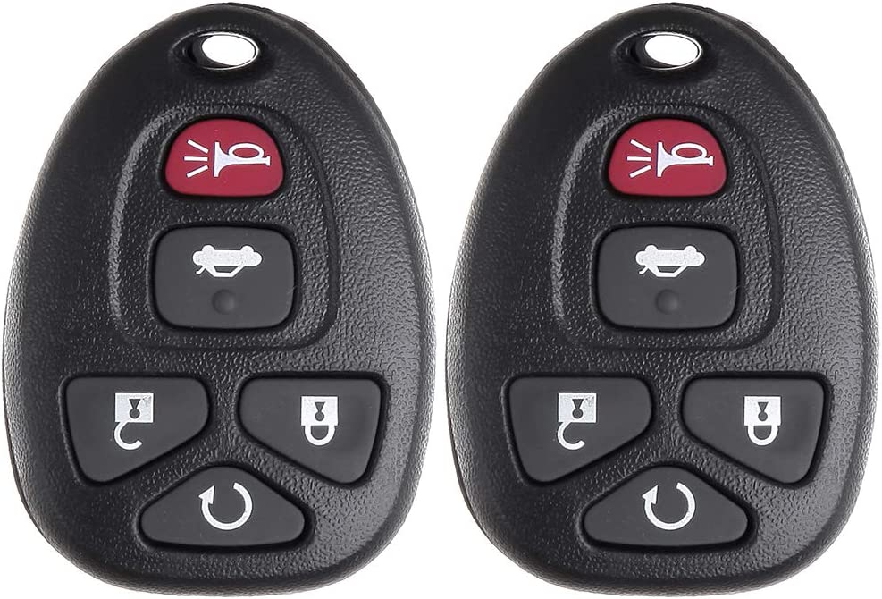 ANPART 2 X Remote Key Fob Compatible for 06 07 08 09 10 11 12 13 Buick Allure LaCrosse For Chevrolet Cobalt FCC KOBGT04A