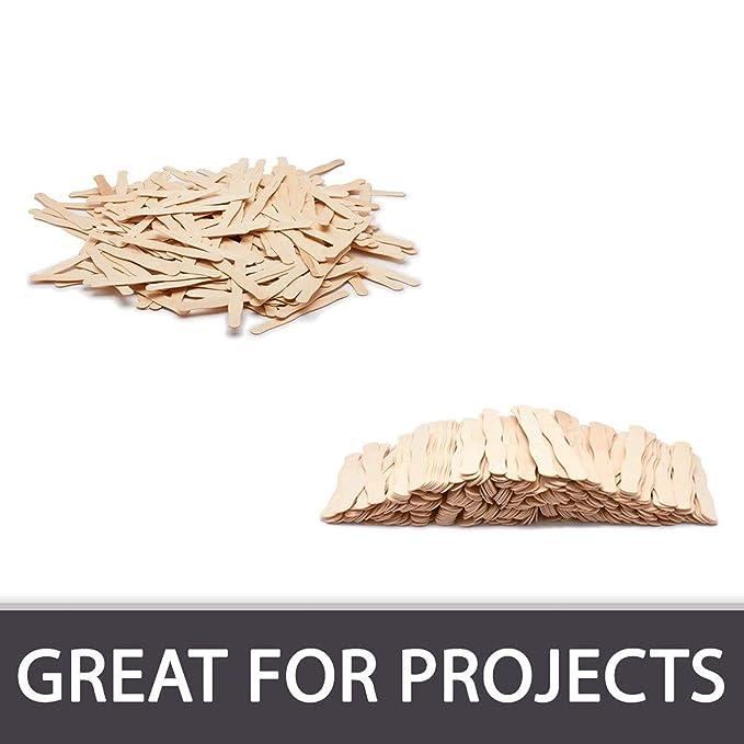 100 unidades de mangos de abanico ondulados de madera ...