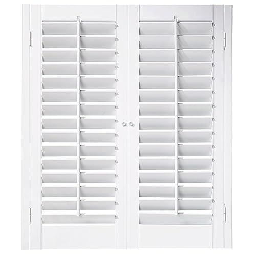Indoor window shutters - Discount interior plantation shutters ...