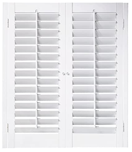 white shutter blinds for windows