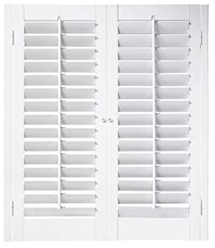 Interior Shutter Kit 2 1/4u0026quot; Louver, Plantation Style (Paint Finish  White